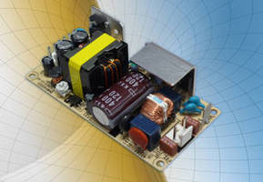 Open Frame Power Supplies exhibit efficiencies from 87-90%.