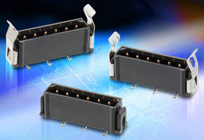 Connector Designs promote design flexibility.