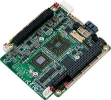 PC/104+ Module features ruggedized, stackable interface.