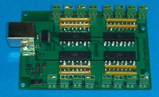USB Switch Input Module features 16-channel architecture.