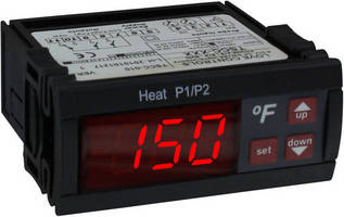 Programmable Temperature Controller features 3-digit display.