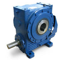Worm Gear suits applications up to 100 hp.