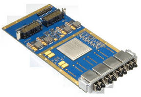 XMC Card  suits sensor interface applications.