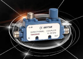 Directional Coupler  offers nominal coupling of 30 dB.