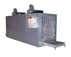 Electric Conveyor Oven heats up to 350�F.