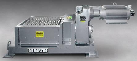 Shredder handles industrial and medical waste.