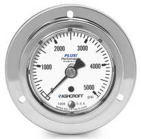 Panel Builder's Pressure Gauge delivers reliability via design.