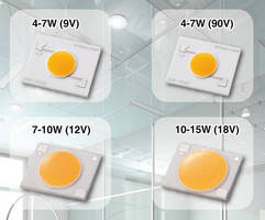 Multi-Chip LEDs offer range of power options.