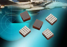 Decoupling Capacitor Arrays suit hi-rel mil/aero applications.