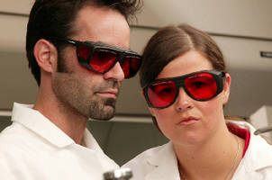 Safety Eyewear protects against laser wavelengths.