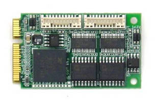 PCIe MiniCard provides 4 opto-isolated serial ports.