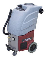Portable Carpet Extractor features recycling technology.