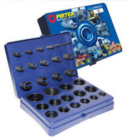 O-Ring Kits aid hydraulic/pneumatic machine repair and service.
