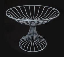 Metal Wire Basket displays food service industry impulse items.