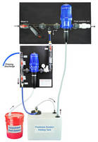 Water-Powered Dilution System does not require any electricity.