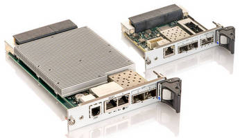 Rugged 10/40 Gigabit Ethernet Switch enhances data throughput.