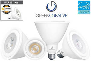 PAR LED Lamps offer efficacies upwards of 66 LPW.