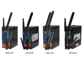Industrial Wireless Routers support 3G and 4G LTE.