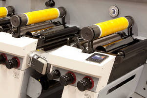 Printing Press prints and converts self-adhesive labels.