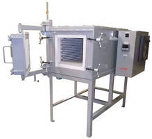 Heat Treating Box Furnace is suited for spring stress relief.