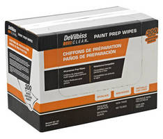 Painting Preparation Wipes remove contaminants from surfaces.