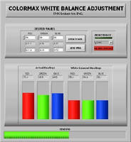Color Sensors offer white balance adjustment.