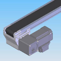 Conveyors and Transport System feature optimized drives.