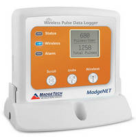 Wireless Datalogger calculates pulse count and pulse rate.