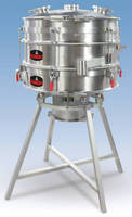 Ultrasonic Sanitary Screener resists blinding, contamination.
