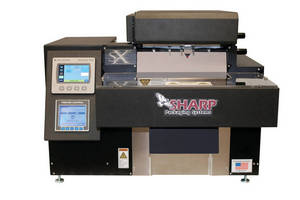 Semi-Automatic Bagger includes 4.3 in. full color touchscreen.