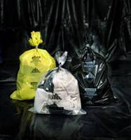 Industrial Strength Bags enable safe asbestos containment/dispoal.