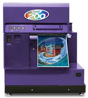 Color Inkjet Printer produces wide labels.