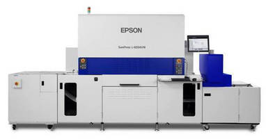 Digital Label Press uses UV ink and PrecisionCore lineheads.