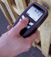 Portable Moisture Meter works with diverse materials range.