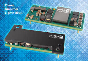 DC-DC Converters target microcell wireless transceivers.