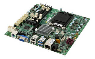Mini-ITX Embedded Board  supports POS applications.