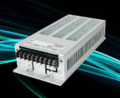 AC/DC Power Supply  features MTBF of 170,000 hours.