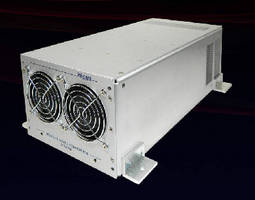 AC/DC Power Supplies feature 3-phase, high voltage input.