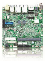 Nano-ITX Board utilizes Intel� Atom(TM) E3800 processor.