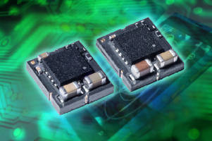 Micro DC-DC Converter delivers EMI noise suppression.