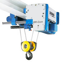 Rope Hoist offers minimal maintenance, extended service life.