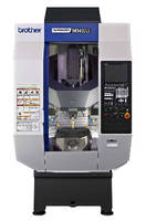 Vertical Machining Center offers simultaneous axis movements.
