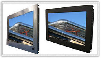 Panel Mount LCD Monitors deliver 1,920 x 1,080 HD resolution.
