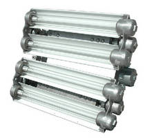 Fluorescent Light Fixture is approved for paint spray booths.