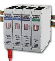 Distributed I/O System for PLCs offers mixed specialty functions.