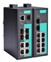 Industrial Unmanaged Switches provide 10 ports.