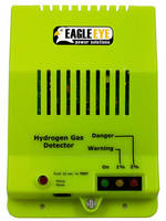 Hydrogen Gas Detector is available for AC/DC applications.