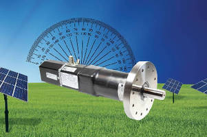 Solar Tracking Motors offer optional onboard inclinometer.