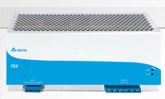 DIN Rail Mount, 3-Phase Power Supply delivers up to 960 W.