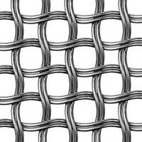 Architectural Mesh features circular patterns.